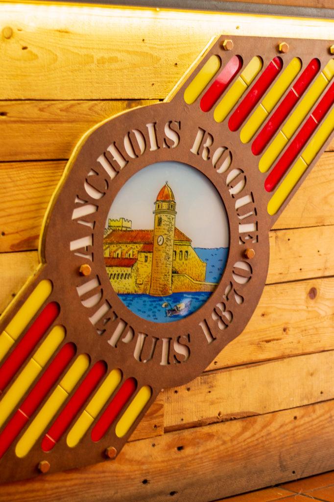 Boutique d'anchois de Collioure