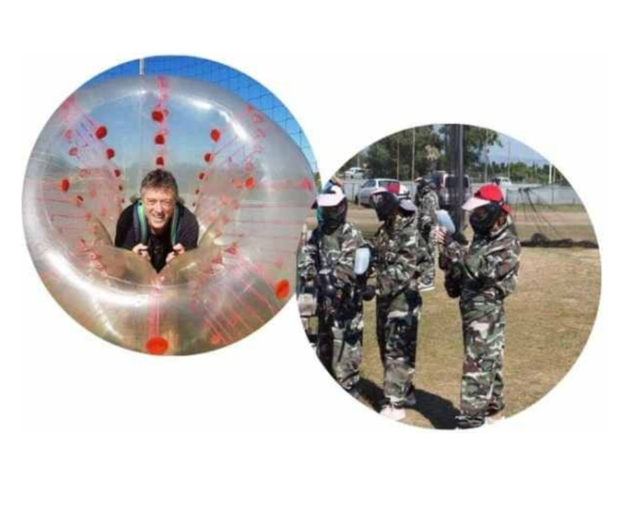 bubble foot paintball
