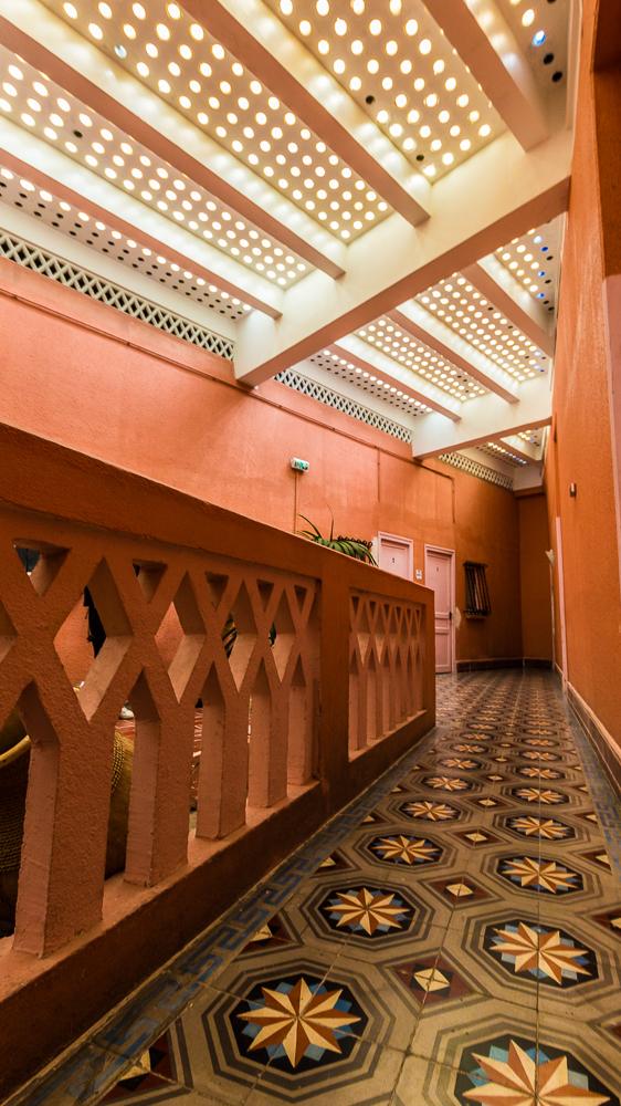 Intérieur de l'hôtel le Belvédère du rayon vert à Cerbère