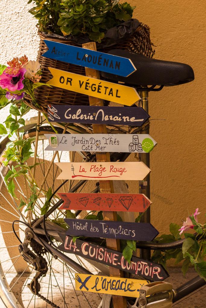 Détails des rues de Collioure
