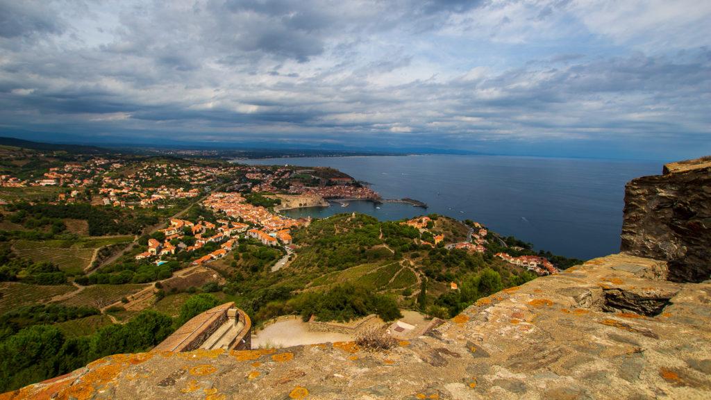 Vue panoramique depuis le Fort Saint Elme