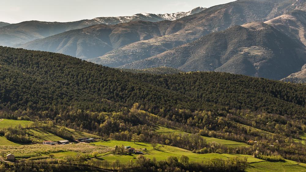 Panorama sur la Vallée de la Rotja
