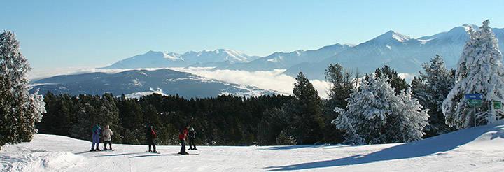 activité hiver Pyrénées Orientales