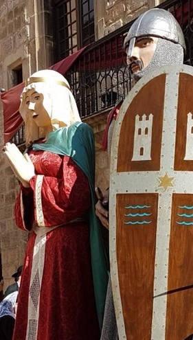 gegants tradition catalane pyrénées orientales