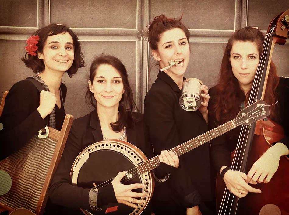 quatuor jazz féminin collioure