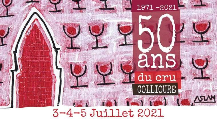 festivité juillet cru Collioure rouge