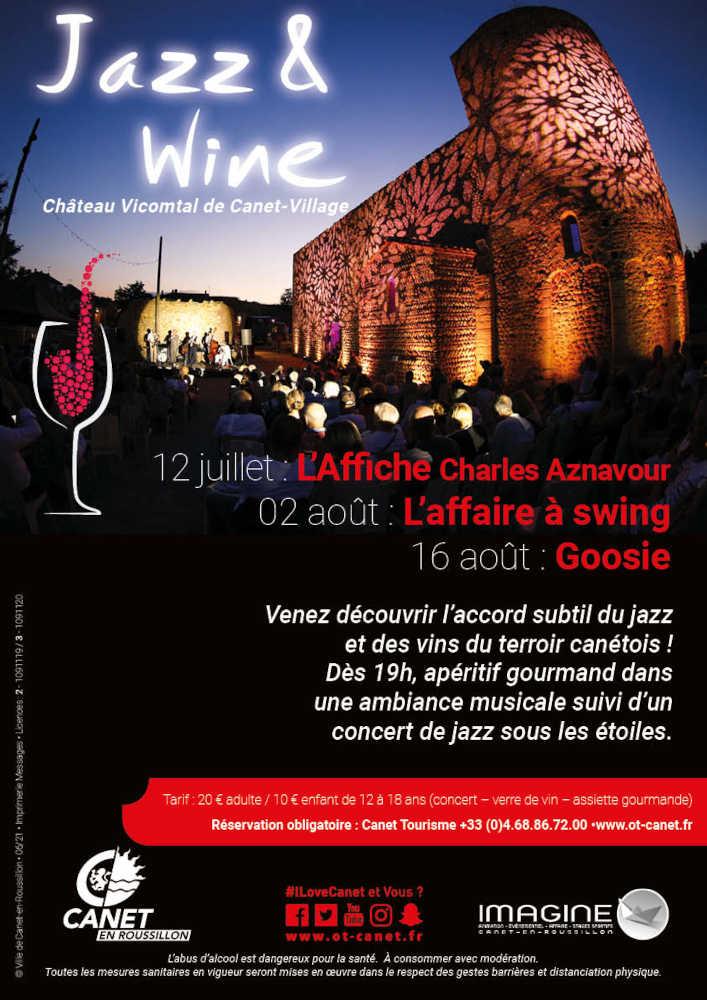 Jazz & Wine Château Vicomtal Canet-en-Roussillon