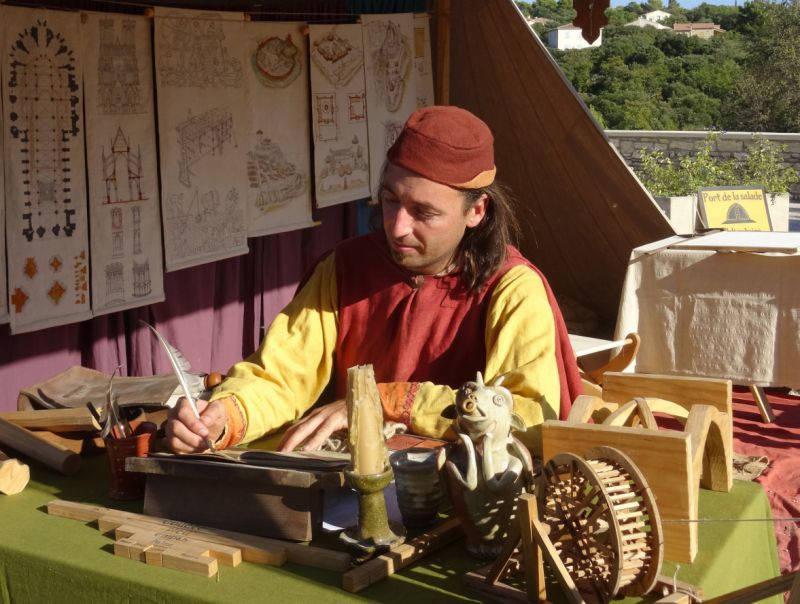 ateliers moyen-âge-pyrénées orientales