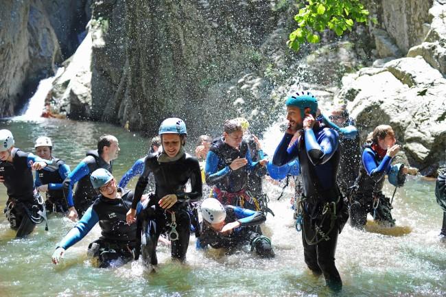 activité nature eau fun sport sensation