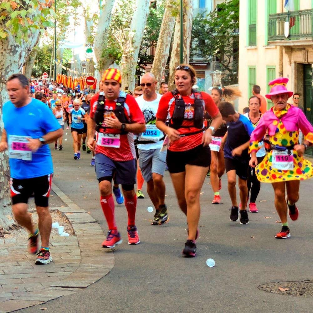 Céret sport run course événement festif