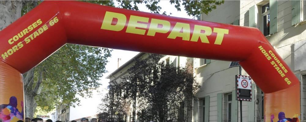 course événement festif Céret pays catalan
