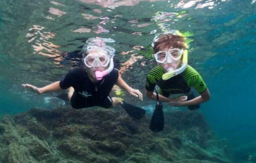 découverte fonds marins réserver loisirs